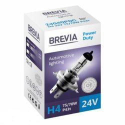 Лампа Brevia 24V H4 75/70W Power Duty
