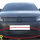 Зимняя накладка на бампер VW Caddy