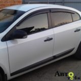 Ветровики Renault Fluence 2010 Anv-Air
