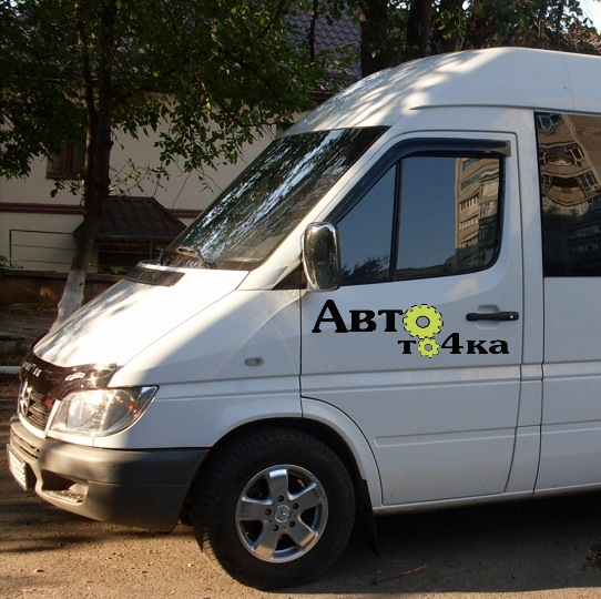 Ветровики на Mercedes Sprinter 1995-2006 ANV-air