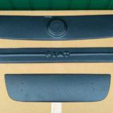 Зимние накладки на Fiat Doblo FLY матовая