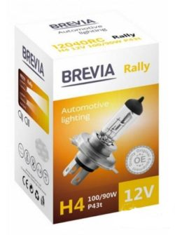 Лампа Brevia H4 12V 90W Rally