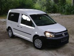 Дефлектор капота VW Caddy