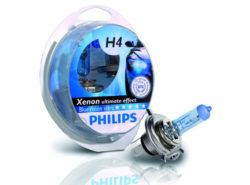 лампа Philips Bluevision 4000К H4