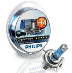 Лампа Philips CrystaI Vision 4300К H4