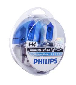 Лампа Philips Diamond Vision 5000К H4