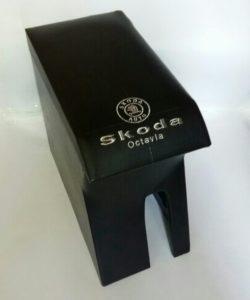 Подлокотник Skoda Octavia с логотипом