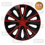 Колпаки Elegant RAPIDE Red-black R15