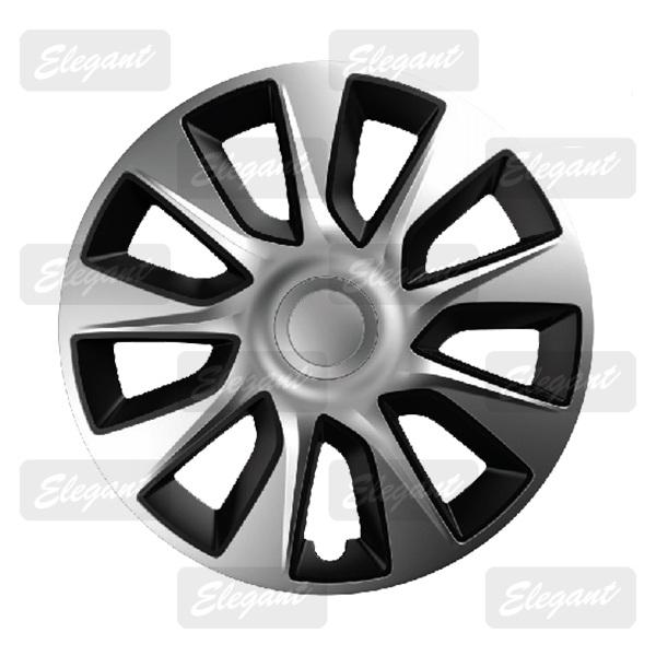 Колпаки Elegant STRATOS Silver-black R13