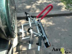 Велоплатформа на фаркоп Амос Титан