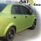 Ветровики Chevrolet Aveo T200 AutoClover