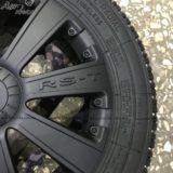 Колпаки R13 RS-T черный