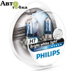Лампа Philips H7 Cristal Vision 4300K 12V 55W