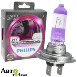 Автомобильные лампы Philips H7 Color Vision Purple
