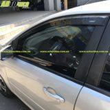 Дефлекторы на боковые стекла Ford FOCUS II «Azard»