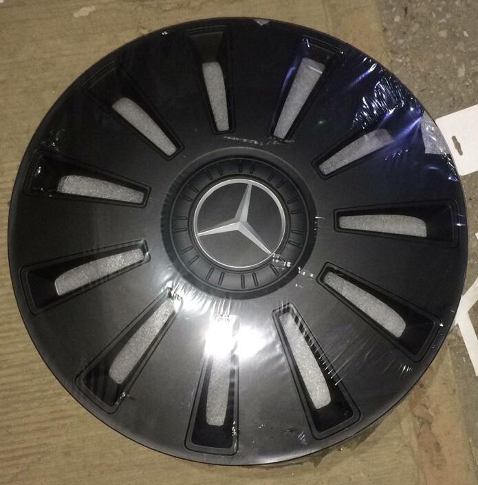Колпаки REX черные с логотипом