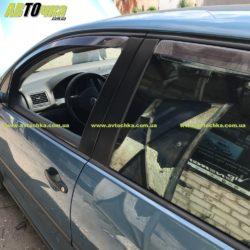 Ветровики VW Golf V вставные «HEKO»