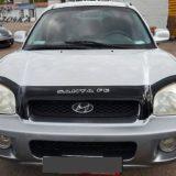 Мухобойка Hyundai Santa Fe 2000-2007 «VIP»