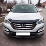 Мухобойка Hyundai Santa Fe с 2012 «VIP»
