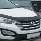 Мухобойка Hyundai Santa Fe 2012 «VIP»