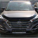 Мухобойка Hyundai Tucson 2016 «VIP»