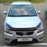 Мухобойка Kia Rio 2005-2011 «VIP»