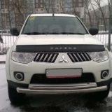 Мухобойка Mitsubishi Pajero Sport 2008-2015 «VIP»
