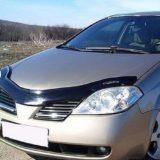 Мухобойка Nissan Primera 2002-2008 «VIP»