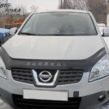 Мухобойка Nissan Qashqai 2006-2013 «VIP»