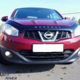 Мухобойка Nissan Qashqai 2009-2013 «VIP»
