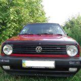 Мухобойка Volkswagen Golf II 1983-1991 «VIP»