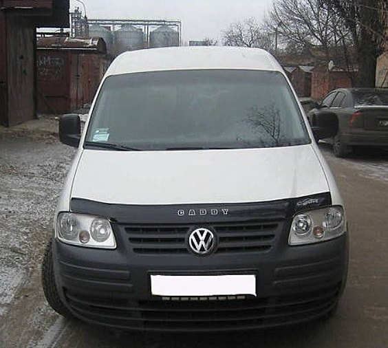 Мухобойка Volkswagen Caddy 2010- «VIP»