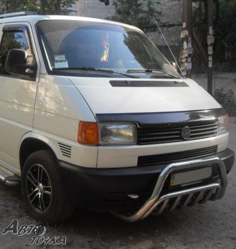 Дефлектор капота VW T4 90-98 крепёж «FLY»