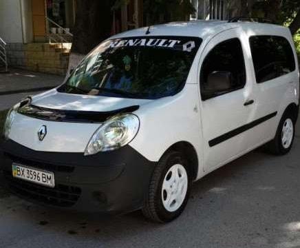 Дефлектор капота Renault Kangoo 08-13 «FLY»