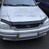 Дефлектор капота Opel Astra G «FLY»