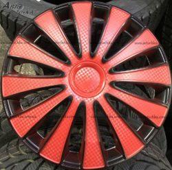 Колпаки Star GMK Red Black R13