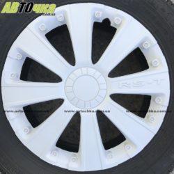 Колпаки на колёса RS-T белый R13
