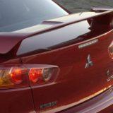 Спойлер крышки багажника Mitsubishi Lancer X