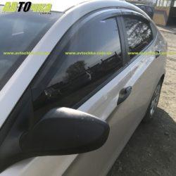 Ветровики Hyundai Accent «Autoclover»