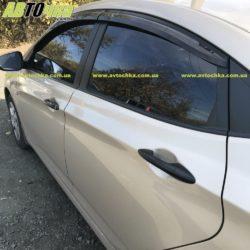 Ветровики на Hyundai Accent