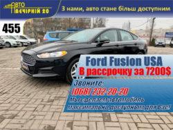 Ford Fusion 2016 USA