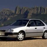 Toyota Corolla 1997-2002